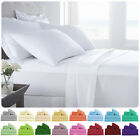 Supreme Super Soft 4 Piece Bed Sheet Set Deep Pocket Bedding - All Colors Sizes image