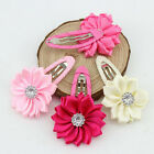 Best Beautiful Baby Girl Flower Hair Clips Toddler Hairpins Accessories