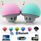 Hot Wireless Bluetooth Mini Speaker Mushroom Waterproof Suction Music Player