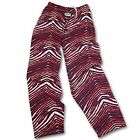 Boston Red Sox ZUBAZ Red Navy White Vintage Style Zebra Embroidered Logo Pants