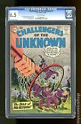 Challengers of the Unknown (1958 DC 1st Series) #7 CGC 6.5 (1102634012)
