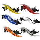 CNC Knife Blade Brake Clutch Lever PAIR For Honda Yamaha Triumph Ducati Kawasaki