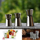 Stainless Steel Double Single Shot Measure Jigger Spirit Bar Cocktail Drink Cups