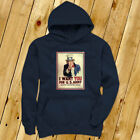 UNCLE SAM ARMY WANT YOU  RECRUIT AMERICAN SOLDIER Mens Navy Hoodie