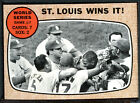 1968 Topps #157 WS Game 7 Cardinals Win EXMT 88709