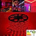 5m-100m 60LEDs/m 5050SMD LED Ribbon Strip Rope Xmas Light Lamp Red 220V IP67