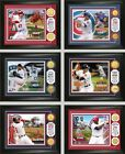 """Choose Your MLB Player 13"""" x 16"""" Gold Medallion Coin Photo Mint by Highland Mint"""