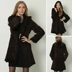 Real Knitted Mink Fur Long Coat Outwear Jacket Hoody New Hot Outwear Tailor-made