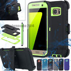 Armor Commute Series Hard Case & Belt Clip Holster for Samsung Galaxy S7/S6 Edge
