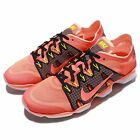 Wmns Nike Air Zoom Fit Agility 2 Orange Black Womens Training Shoes 806472-800