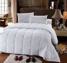 300TC White Down Alternative Comforter 100% Microfiber Four seasons  image
