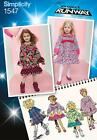 Simplicity SEWING PATTERN 1547 Toddlers/Childs Dress 1/2-3 or 4-8