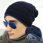 2016 Unisex Womens Mens Knit Beanie Hat Hip Hop Cap Winter Warm Oversized Hats