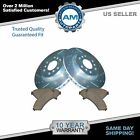 Nakamoto Brake Rotor Drilled & Slotted Coated & Ceramic Pad Front Set for Chevy
