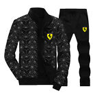 Men's JoggingTrackSuit Sport Suit Sets Jacket Pant trousers Athletic Apparel G08