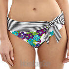 Panache Swimwear Elle Fold Bikini Brief/Bottoms White/Floral SW0877 Select Size