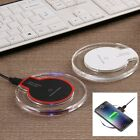 Qi Wireless Clear Charger Dock Charging Pad for Samsung Galaxy S7 Edge Note 5