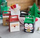 2017 Christmas Animal Apple Party Paper Favour Gift Cupcake Lunch Carrier Boxes