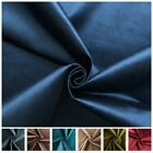 LUXURY VELVET SHINY DESIGNER SMOOTH THICK MATERIAL CUSHION UPHOLSTERY FABRIC