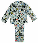 Boys Star Wars C-3PO Yoda Darth Vader Wincyette Button Up Pyjamas 5 to 10 Years