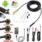 6LED Android Endoscope Waterproof Inspection Camera Micro USB Video Camera New