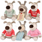 Boofle Medium Small Love You Mum Daughter Friend Love You Loads Lamboa Bear