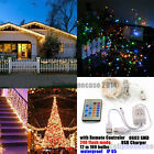 12M 100 LED  Remote USB Strip Christmas Tree Fairy String Party Light Waterproof