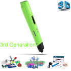 Newest The 3rd-Gen 3D Printing Pen Crafting Doodle Drawing Modeling Printer