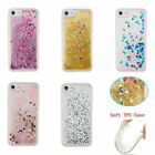 Floating Bling Glitter Stars Clear TPU Case Cover for iPhone 7 7 Plus 6 6s Plus