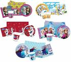 PARTY PACKS - Licensed FROZEN Ranges (Disney/Birthday/Tableware/Plates)