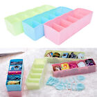 5 Grid Bra Socks Underwear Ties Divider Closet Container Storage Box Holder JR