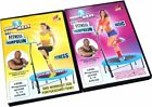 DVD FITNESS - BASIC / FITNESS - TRAMPOLIN TRAININGS SPORT von POWER MAXX NEU *
