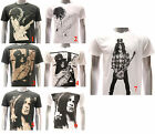 ASIA SIZE Rock Band T-shirt Vtg Guns N Roses Slash Vtg Retro Casual Tee RABB