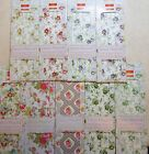 Deco Mache Floral Decoupage Papers, 3 sheets 26 x 37.5cm Flowers Roses