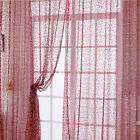 New Nice Flocking Curtains Door Window Room Divider Curtain Valance 100*200cm