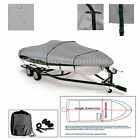 ProCraft+1650+Pro+V+Trailerable+Fishing+Bass+Boat+Cover+grey