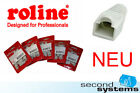 NEW Roline 50 x RJ45 Anti kink sleeve Patch Cable Network Cable STP 0 1/4in