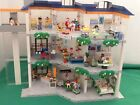 HUGE PLAYMOBIL HOSPITAL 4404 BOXED WITH EXTENSION,AMBULANCE,MOTORBIKE,LED LIGHTS