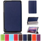 """Stylish Folio Leather Case Stand Cover For Nvidia Shield Table K1 8"""" Tablet Case"""