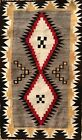 Outstanding GENUINE NAVAJO RUG with Spider Woman Crosses - No Reserve as always!