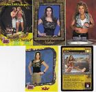 TOPPS WWE BORN IN HOUSTON TEXAS 5 SEXY NIDIA GUENAD WRESTLING CARDS