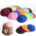 Lady Women DIY Accessory EVA Oval Pillbox Fascinator Hat Base 14 Colors Choose