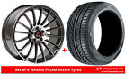 Alloy Wheels & Tyres 18'' Axe EX23 For Chrysler Crossfire 04-08