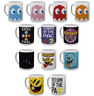 Official PAC-MAN Ceramic MUG 10oz (& Gift Box) Pacman/Arcade/Gaming/Xmas/Cup
