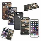 """For Apple iPhone 7 Plus (5.5"""") Hybrid Case Hard TPU Combo Shockproof Back Cover"""
