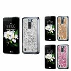 For LG K8 Escape 3 K7 Premium Diamond Glitter Hard Bling Case Phone Cover