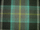 Balmoral Tartan Check Wool Effect Curtain Upholstery Designer Fabric - Azure