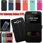 LOT Flip Leather Stand Case Cover For Samsung Galaxy J7 Hard Bumper Soft Case US