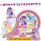 MY LITTLE PONY ARCOBALENO Gamma Festa {Amscan} Compleanno/Banner/Palloncini/