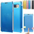 Smart Mirror Flip Case For Samsung Galaxy A3 A5 A7 2016 Phone Luxury Cover Shell